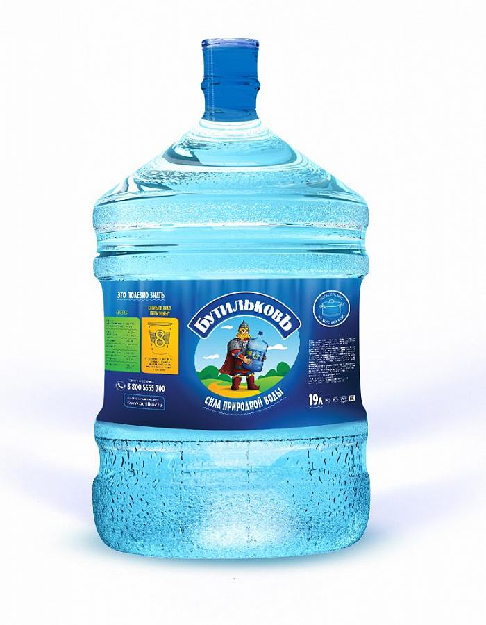 Вода 'БутильковЪ', высшая категория (19л)