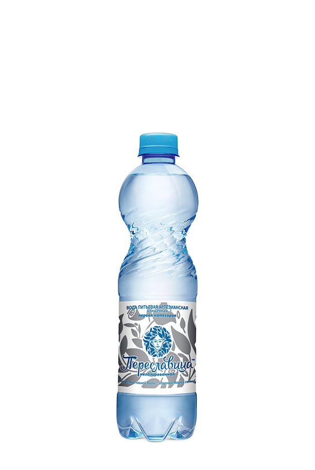 """Вода 0,5 л. """"Переславица"""" не газированная 12 шт."""