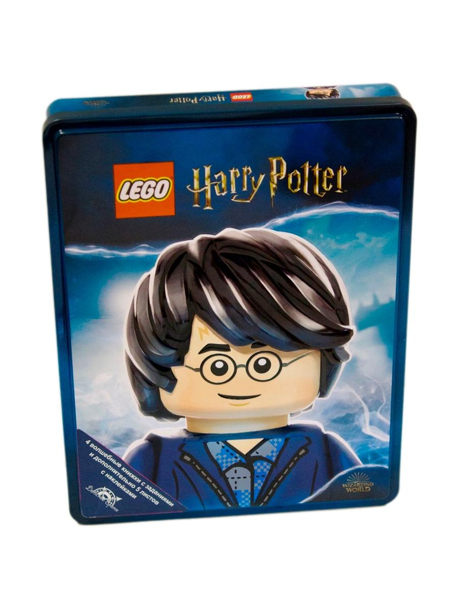 Комплект книг LEGO Harry Potter 4 шт.