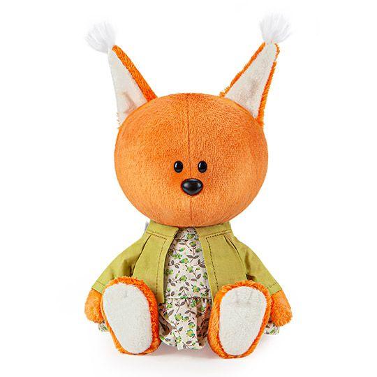 Мягкая игрушка BUDI BASA Белка Бика в платье и курточке
