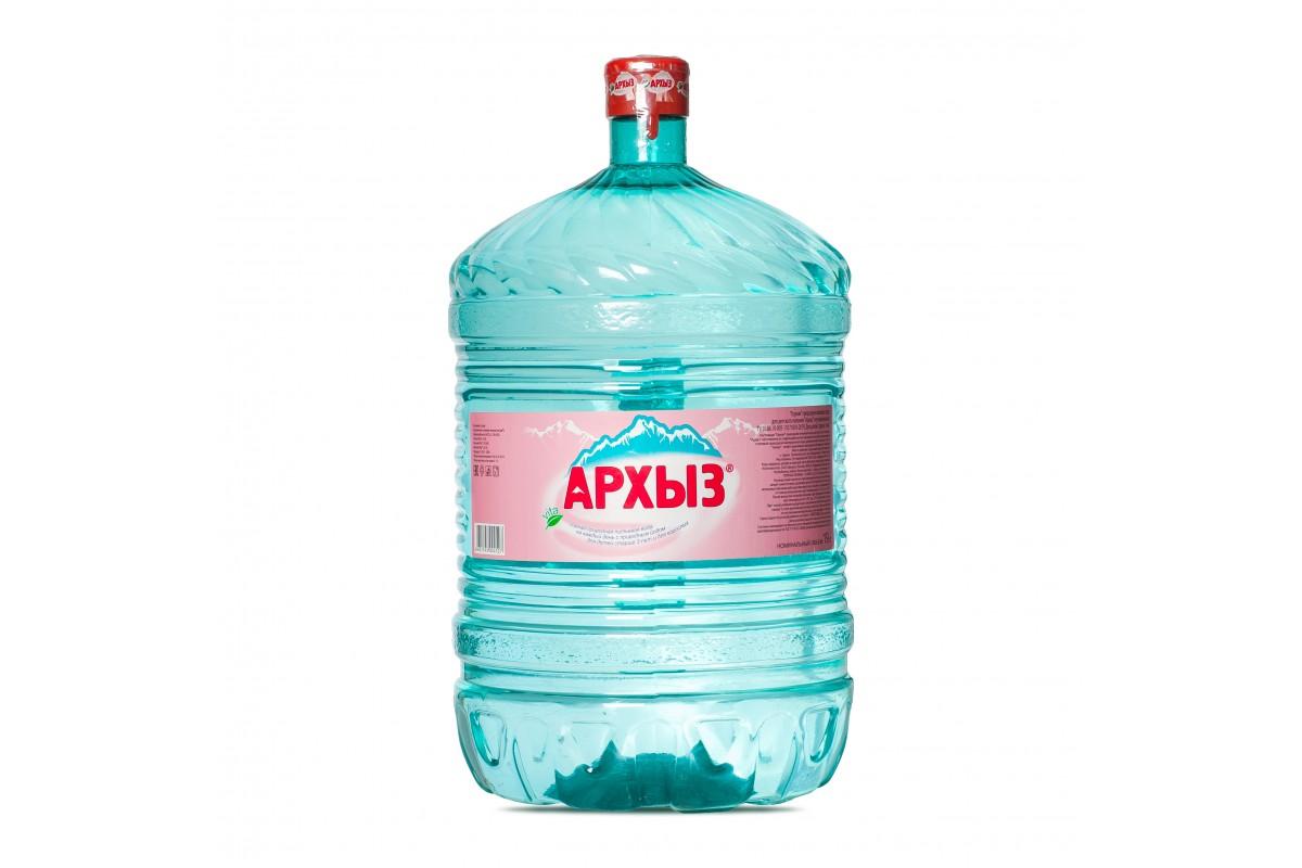 """Вода """"Архыз"""" (19л)"""